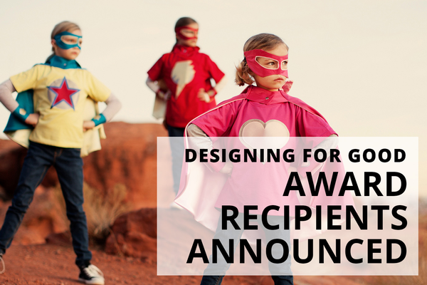 Image for Announcing our 2019 Designing for Good grant recipients!